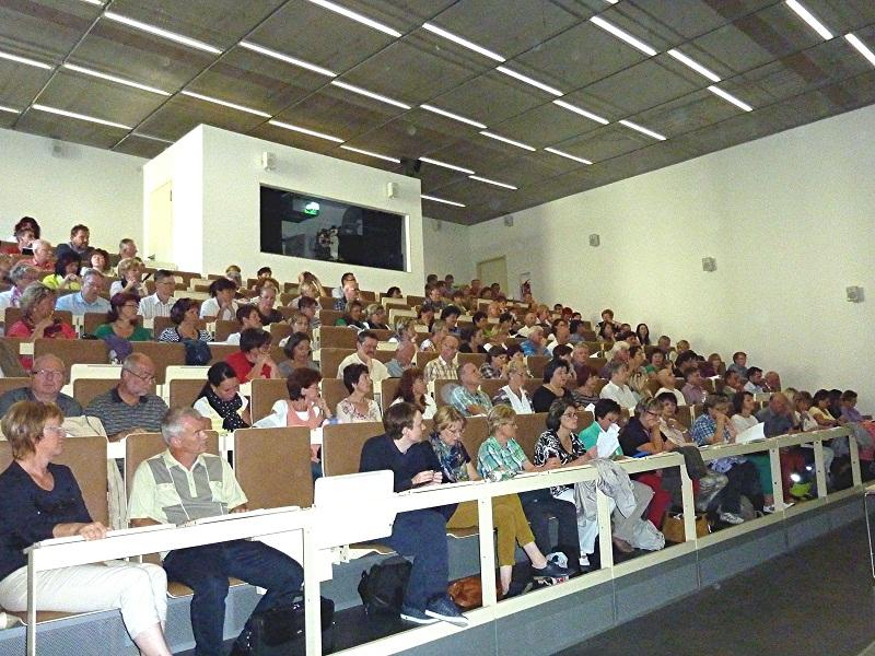 Kollegium im Hörsaal