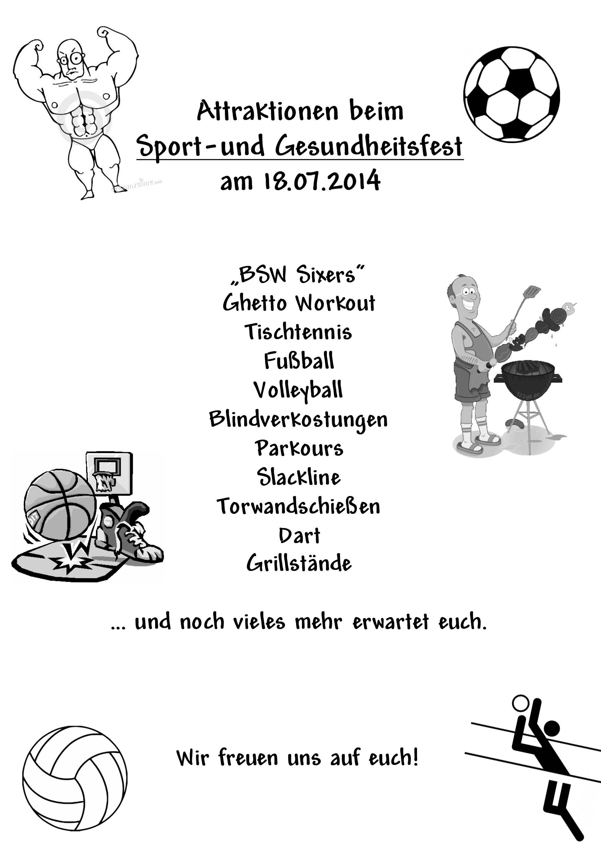Flyer Sportfest